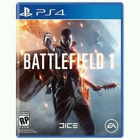 Battlefield 1 PS4 Excellent Condition