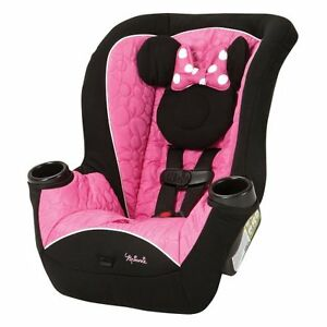 Disney APT Convertible CAR SEAT, Minnie Mouse BABY CAR SEAT, Mouseketeer Minnie