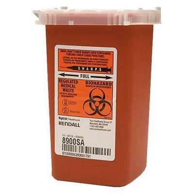 1 Quart Sharps Container Biohazard Needle Disposal Tattoo Phlebotomy - 10 Pack