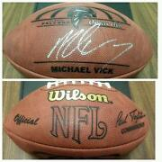 Michael Vick Signed Football