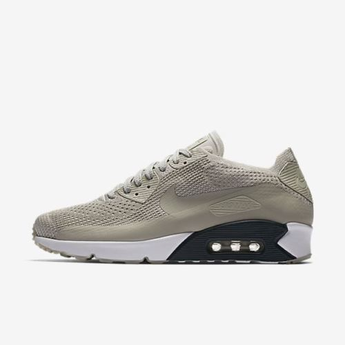 new style 23e87 b472e Nike Air Max 90 Ultra 2.0 Flyknit Men Running Train Shoes Pale Grey 875943  006