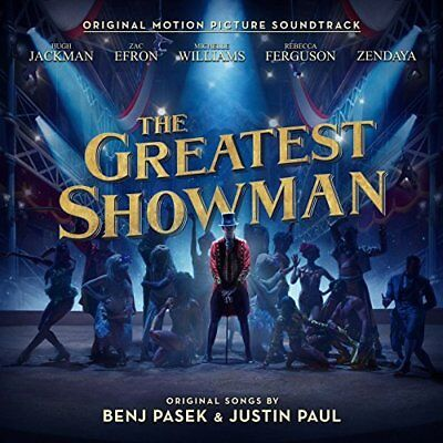 Greatest Showman Soundtrack Benj Pasek   Justin Paul Cd New