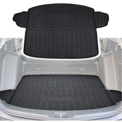 (Cargo Liner Trunk Floor Mat Rear Tray Protector for 2017 2018 Honda CRV)