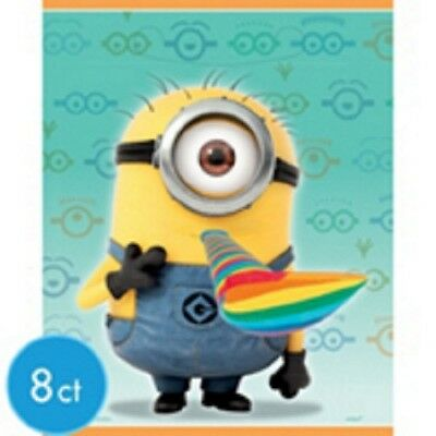 (2) Despicable Me 2 - Birthday Party Treat/ Favor Bags Party Supplies 16ct ](Despicable Me Treat Bags)