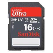16GB SD Card Class 10