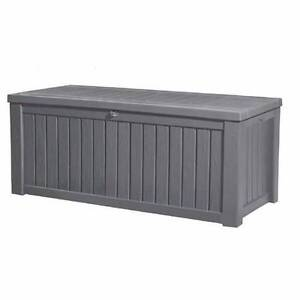 KETER ROCKWOOD STORAGE BOX ANTHRACITE GREY Point Cook Wyndham Area Preview