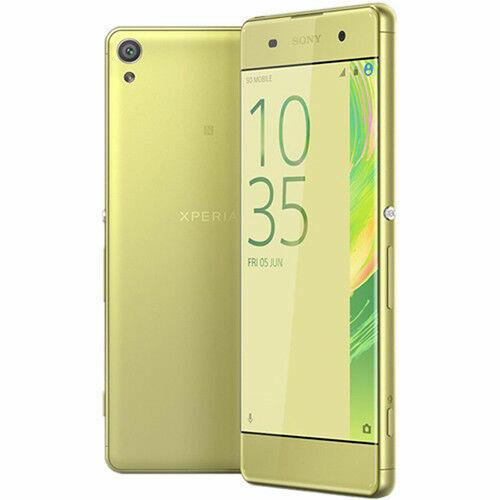 Sony Xperia XA F3113 - 16GB - Lime Gold (Unlocked) Smartphone