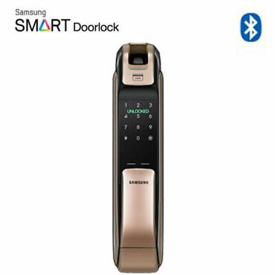[SAMSUNG] SHP-DP920 Keyless BlueTooth PUSH PULL Fingerprint Door Lock⭐Tracking⭐
