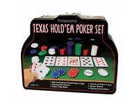 Poker Set - Brand New - Kilmarnock Area