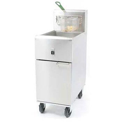 Dean Sr14e 40 Lb. Oil Cap. Value Electric Fryer 208v Three Phase