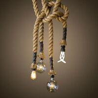 Ciondolo Industriale Lampada Edison Lampadario Retrò Illuminazione Luci -  - ebay.it
