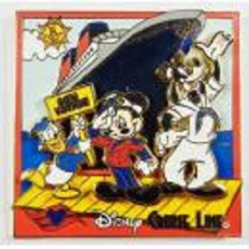 Disney Pin - DCL - Disney Cruise Line - Bon Voyage (FAB 3) 3D
