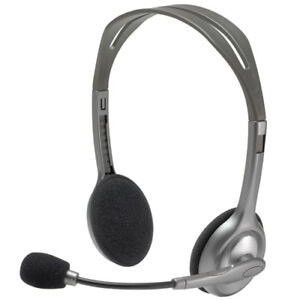 Logitech Stereo Headset H110 - Brand New in the Box **50% OFF**