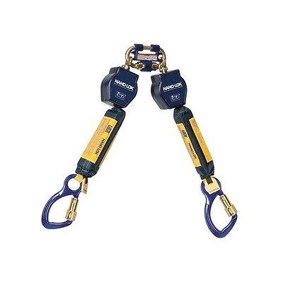 Dbisala 3101275 Dbisala Nano-lok Twin Leg Self Retracting Lifeline With Quick