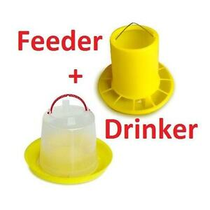 Chicken Poultry Feeder and Drinker Set Dandenong South Greater Dandenong Preview