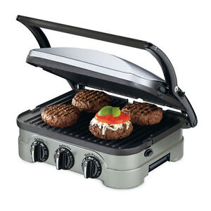 Cuisinart 5-in-1 Griddler with waffle attachement