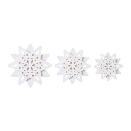 3x ikea strala stern led weihnachtsstern deko weihnachten advent tisch licht neu eur 9 90. Black Bedroom Furniture Sets. Home Design Ideas