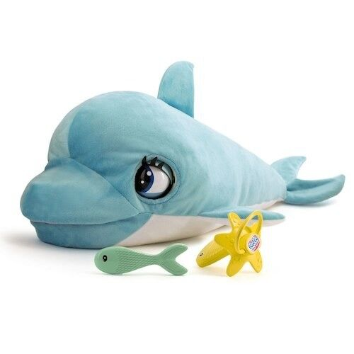 Club petz blu blu dolphin toy as new condition hardly played with!