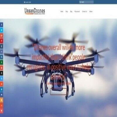 Fully Stocked Dropshipping Flying Drones Website Business. Secret Bonuses