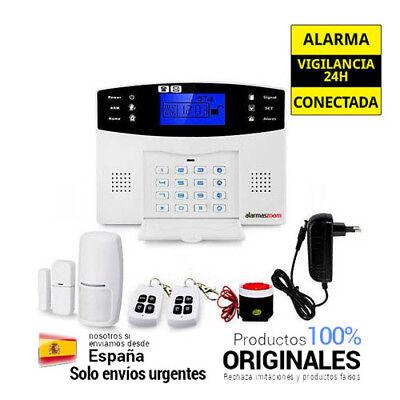 Alarma Hogar con voces Español Castellano GSM Teclado alarmas-zoom az017 SMS
