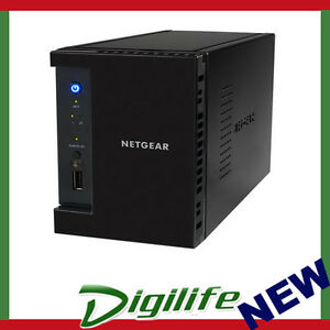 NETGEAR RN10200 ReadyNAS 102 Network Storage 2-Bay NAS USB 3.0 iSCSI CloudNAS