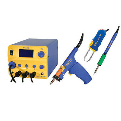 Hakko Fm206-dts Esd-safe Fm-206 Desoldering Rework Station With Fm-2022 Tweezer
