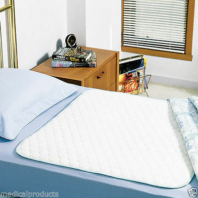 3 REUSABLE WASHABLE UNDERPADS BED PADS 36x54 HOSPITAL GRADE INCONTINENCE