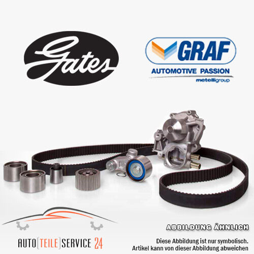 Gates Timing belt kit and water pump For Audi A4 VW Bora Golf 4 Passat Sharan