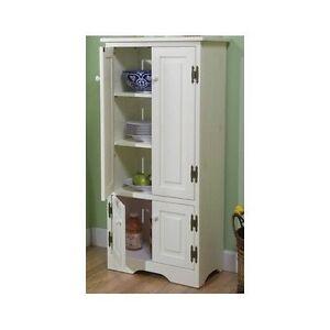 tall pantry cabinet ebay. Black Bedroom Furniture Sets. Home Design Ideas