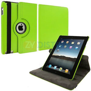GREEN 360 ROTATING PU LEATHER CASE COVER WITH STAND FOR IPAD AIR Regina Regina Area image 4
