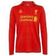 Liverpool Football Shirt Longsleeve
