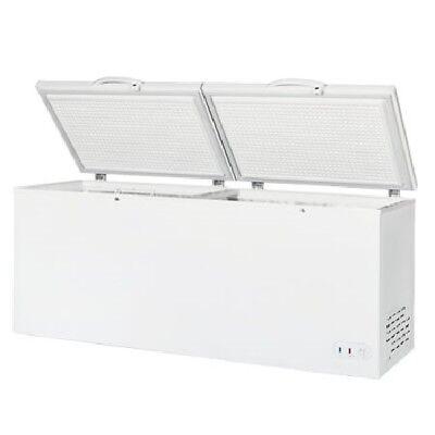 Maxx Cold 23.6 Cu. Ft. Commercial Nsf Sub Zero Chest Freezer 78.75 White 115v