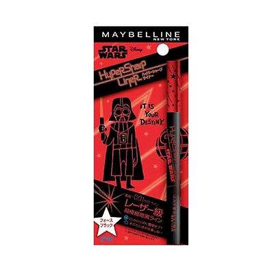 [MAYBELLINE] Intense BLACK Hyper Sharp 24H Eyeliner DARTH VADER STAR WARS (Darth Vader Make Up)