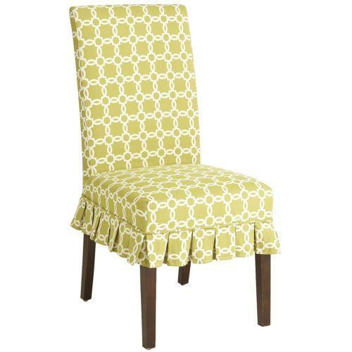 Cotton Dining Room Chair Slipcovers