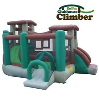 Jump bounce house Kidwise Clubhouse Climber 16 x 16
