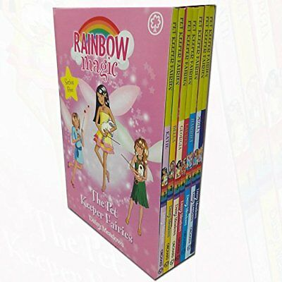 Rainbow Magic Pet Keeper Fairies Collection 7 Books Box Set With Gift Journal K Magic Fairy Journal