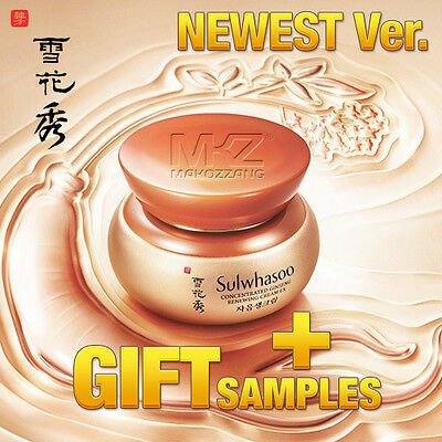 Sulwhasoo Concentrated Ginseng Renewing Cream EX Newest Anti-Aging Amore Pacific