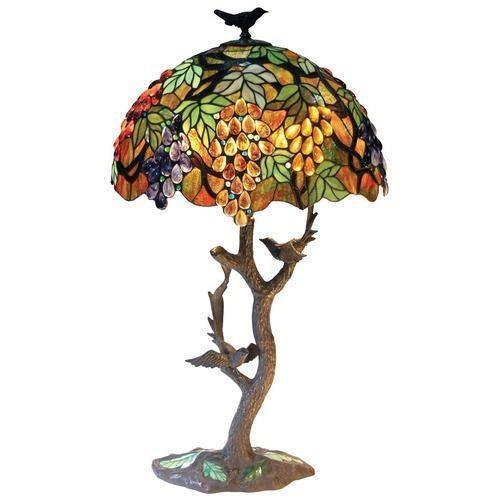 Dale tiffany table lamps - Tiffany Lamp Grapes Ebay