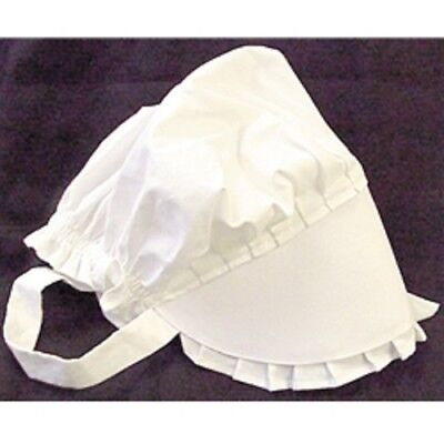 THANKSGIVING PILGRIM CIVIL WAR ERA PIONEER BONNET REPRODUCTION NEW SIZE SMALL