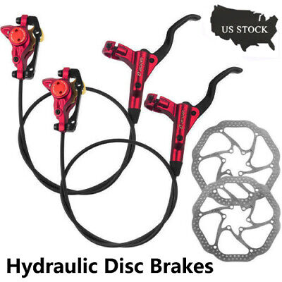 Bicycle Hydraulic Disc Brakes Calipers Bike Front&Rear with