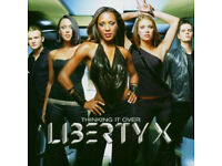 MUSIC CD LIBERTY X THINKING IT OVER LOOK MINT CONDITION JUST A LITTLE DOIN IT..*