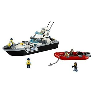 LEGO City Police Patrol Boat 60129 BRAND NEW SEALED FIRM