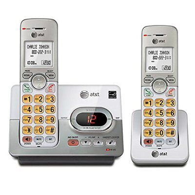 AT&T EL52203 2 Handset Cordless Answering System with Caller ID/Call Waiting (PL