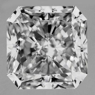 3.03 carat Radiant cut Diamond GIA certificate E color VS2 clarity no floresence