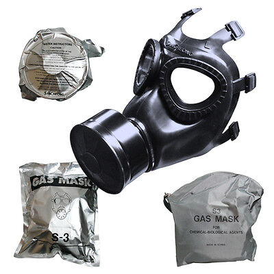 San Cheong S-3 Gas Mask Made In Korea