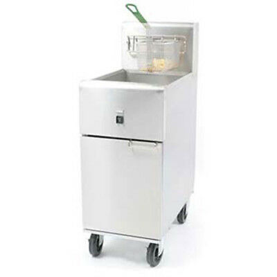 Dean Sr14e 40 Lb. Oil Cap. Value Electric Fryer 208v Single Phase