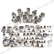 Alphabet Cutters Sugarcraft