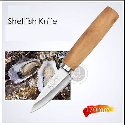BIGSALE 7cm Blade Oyster Shellfish Safety Knife Shell Clam Opener Stainless
