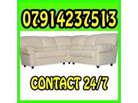 THIS WEEK SPECIAL OFFER LEATHER SOFA Range 3 & 2 or Corner Cash On Delivery 5773