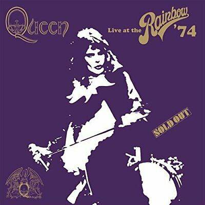 Queen - Live at The Rainbow London 1974 - NEW CD (sealed)